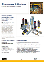Filtration Flowmeters & Monitors